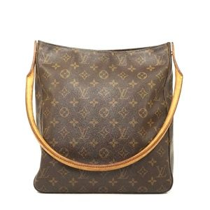 Auth Louis Vuitton Looping Gm Shoulder #1318L18